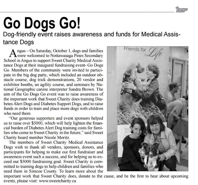 Go Dogs Go – Borden Citizen